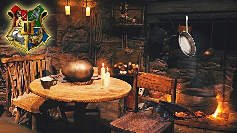 Хижина Хагрида | Hagrid's Hut | Harry Potter ϟ Ambience