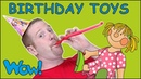 Birthday Toys for Kids from Steve and Maggie | Free Speaking Stories Wow English TV