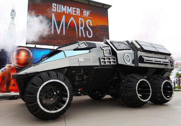 Как выглядит новый марсианский внедорожник