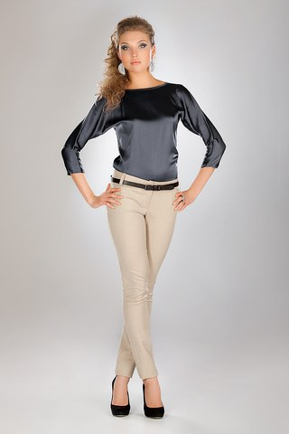 Блузка С Коротким Цельнокроеным Рукавом