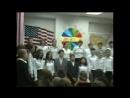29 09 2004г Учащиеся 8 х классов на школьном празднике культур мира