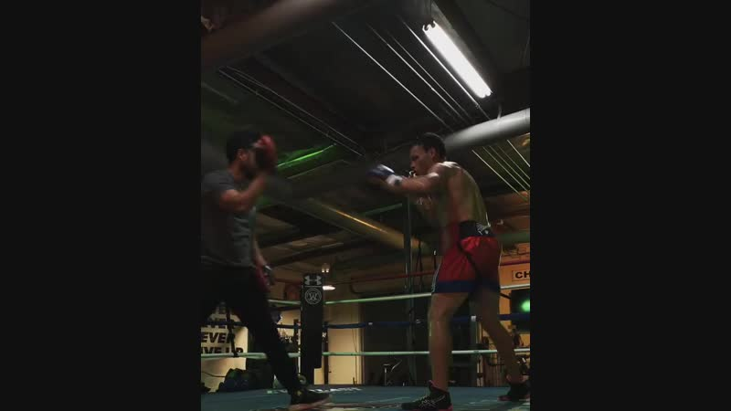Julio Cesar Chavez Jr Training
