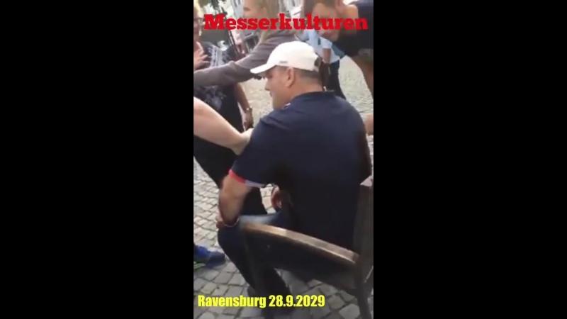 Ravensburg 28.9.2018 Messerkulturen - 3 Opfer