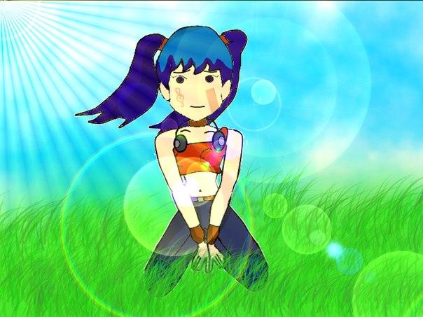 Аниме - winx - Журнал Animage +игра одень анимешек!