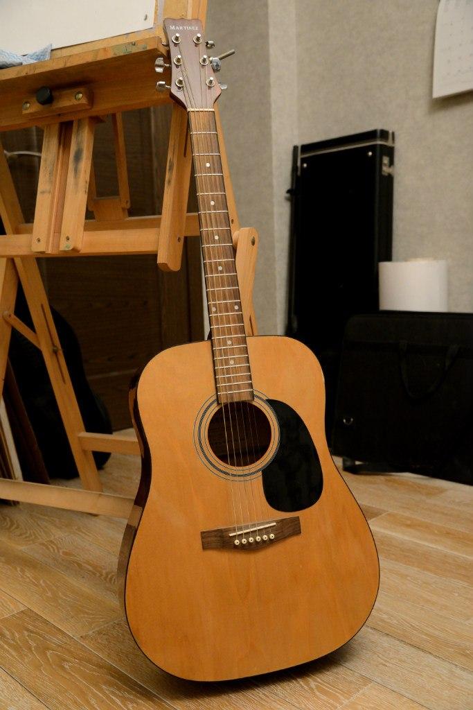 Шестиструнная гитара martinez faw-701