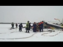 Самолёт с тринадцатью людьми на борту потерпел крушение в Нарьян-Маре