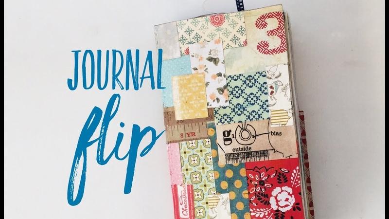 Pocket Page Notebook Flip Through Traveler's Notebook Finished Insert Flip Through