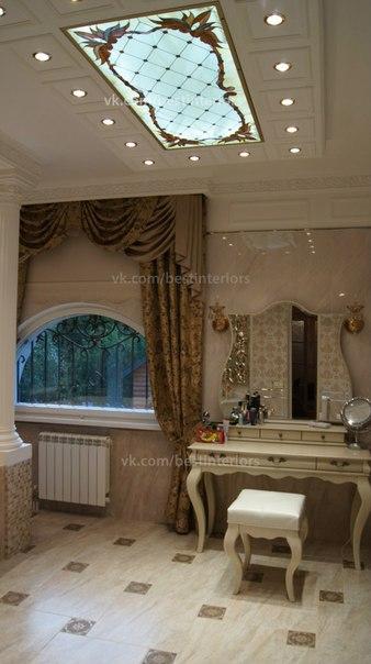 Ванная комната в классическом стиле (7 фото) - картинка