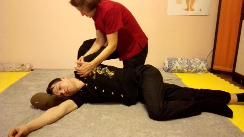 Тайский массаж (Ирина Неустроева, Леонид Оноприенко)