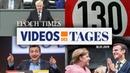 """Videos des Tages Tempolimit 130, Ziemiak """"platzt der Kragen"""", halbe Million Euro für Vertrauten"""