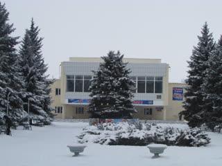 Зима в Ждановке, на кануне Нового года.