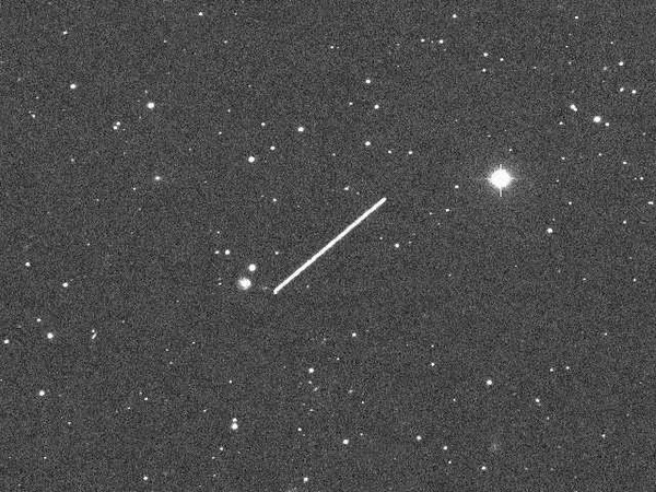 Tiny Asteroid 2012 KT42 Crossing The Sky