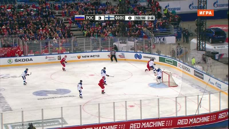 Euro Hockey Tour 2018-19. Channel One Cup. Russia - Finland 16.12 17.00