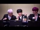 [VK][171112] MONSTA X (Wonho Minhyuk Jooheon focus) @ Gangnam Fansign