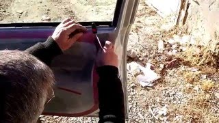 Как снять обшивку двери на Opel Astra G Caravan HD