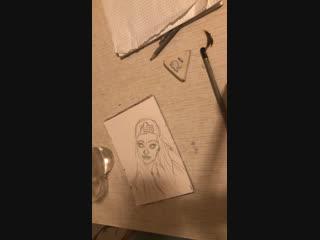 #скетч#акварель#рисунок#портрет
