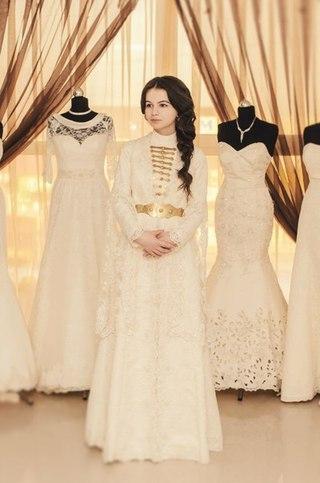 Чеченские национальные детские платья