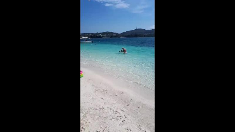 албанский курорт Ксамиль. Ионическое море