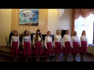 Вокальная группа ансамбля Коробейники. Городской конкурс