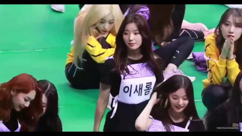 Saerom, nakko and sejeong interaction