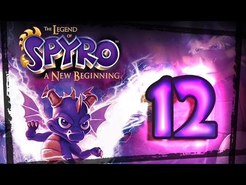 The Legend of Spyro: A New Beginning Walkthrough Part 12 (PS2, Gamecube, XBOX) Munitions Forge