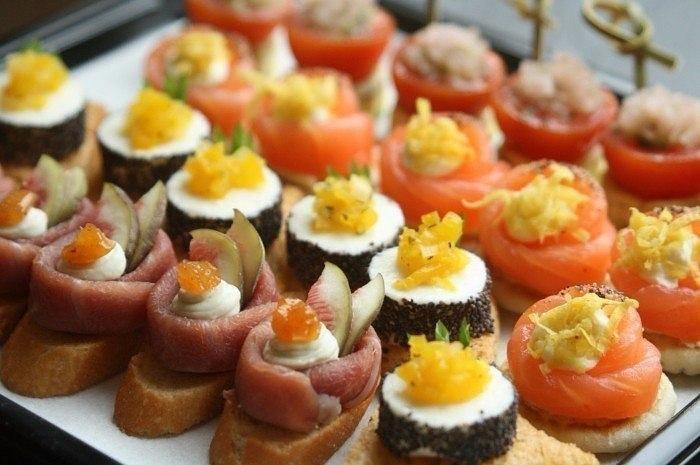 Оригинальные рецепты бутербродов на праздничный стол с