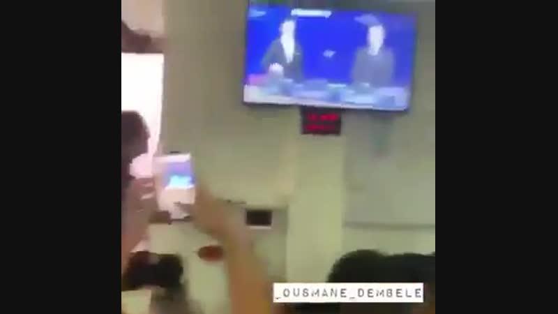 Реакция футболистов Лион когда им выпала Барселона в 1 8 финала Лиги чемпионов