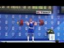 Универсиада - 2013 в Казани. Тяжелая атлетика вк до 105 Андрей Деманов рекорд Универсиады в толчке - 223 кг