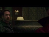 Тони Старк и Доктор Стрэндж в Санктум Санкторум | Отрывок из «Войны Бесконечности»