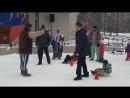 Развлекательная программа на площади по случаю выборов президента РФ