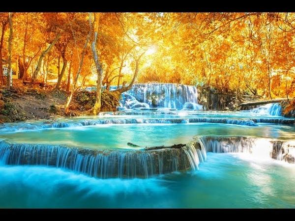 DEEP Healing Water Sounds With Meditation Music 432Hz ➤ Raise Positive Vibrations, Calming Waterfall