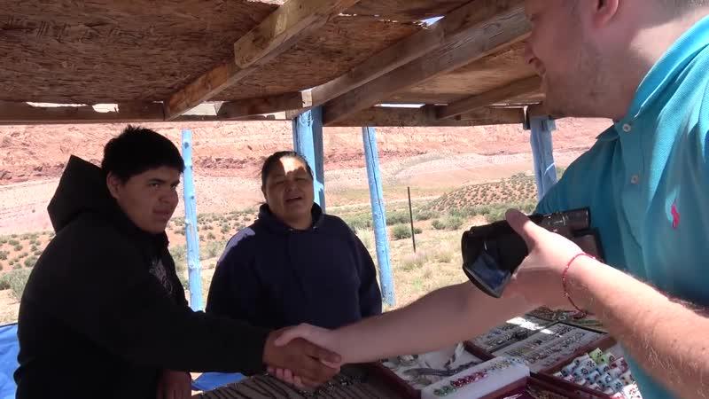 Гранд Каньон. Настоящие Индейцы Перцовый Балон От Медведя