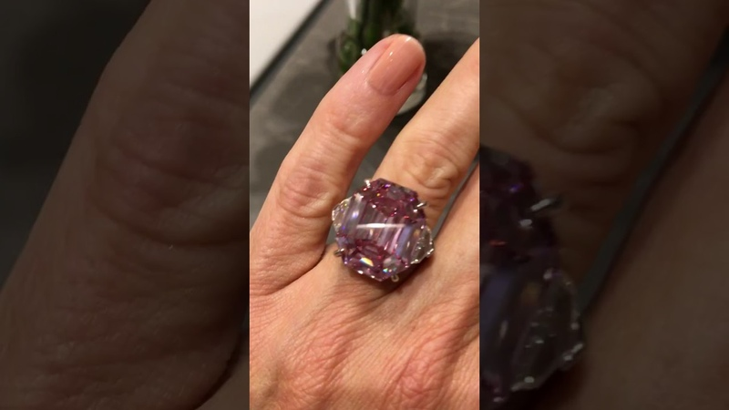 Check out the spectacular Pink Legacy diamond worth more than your home