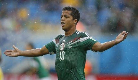 Сборная Мексики по футболу, сборная Камеруна, чемпионат мира