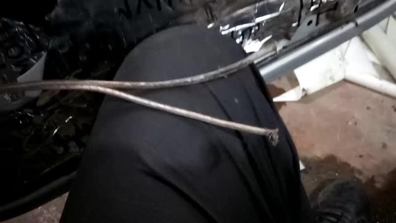 кабель окислился