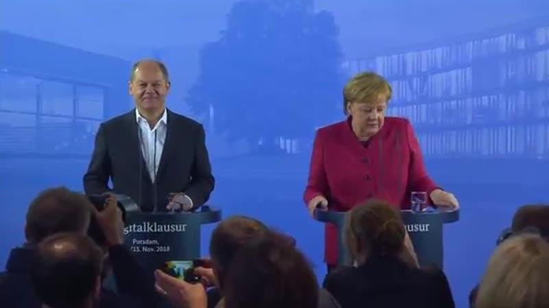 DEUTSCHLANDTREND- Mehrheit will- dass Merkel die volle Amtszeit bleibt