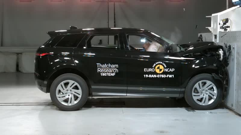 Краш тесты нового Range Rover Evoque от Euro NCAP