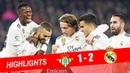 Real Betis vs Real Madrid 1-2 Highlights - Resumen y Goles (13/01/2019)