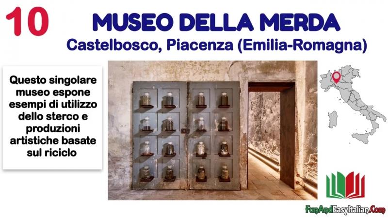 I MUSEI ITALIANI PIÙ INSOLITI