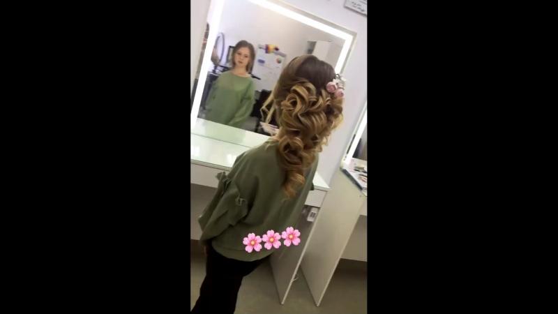 Греческая коса 💕