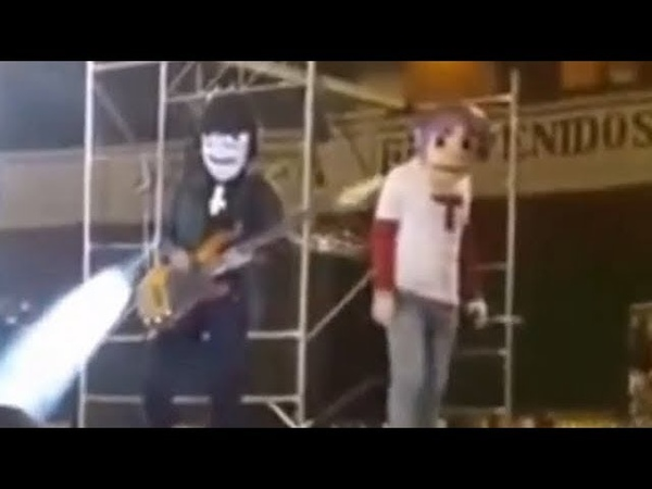 I put spongebob music over a terrible gorillaz performance