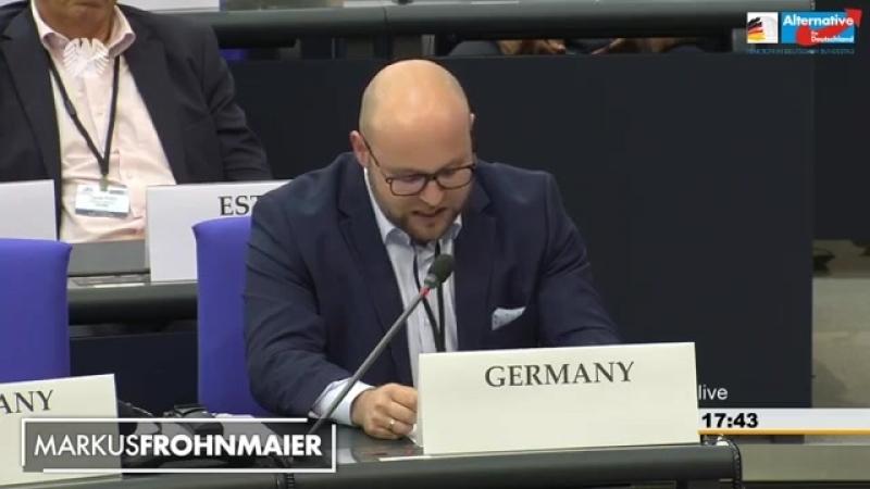 Markus Frohnmaier- Keine Stabilität dank Massenmigration- OSZE-Tagung im Bundestag