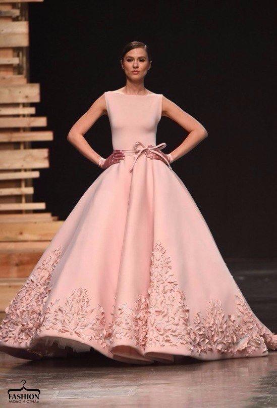 Восхитительные платья с показа Ezra Santos Haute Couture