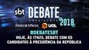 Assista ao debate entre candidatos à Presidência da República