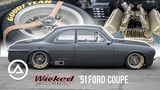 '51 Ford Coupe by Wicked Fabrication