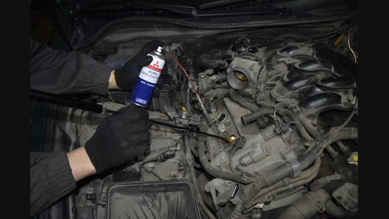 Lexus GS300 эндоскопия ЦПГ,раскоксовка колец и замена масла.