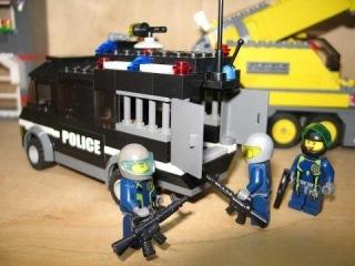 Мультфильмы Лего Сити - водное ограбление банка