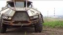 Железные монстры вдохновлённый Безумным Максом иркутский мастер создаёт необычные автомобили