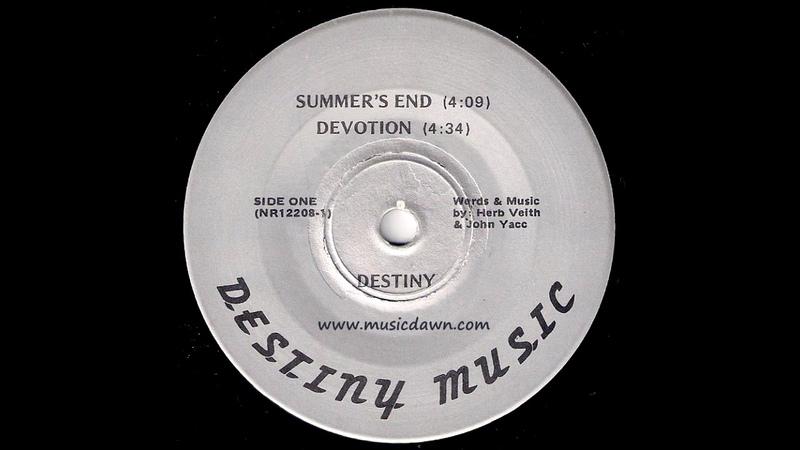 Destiny - Devotion [Private Label] Obscure Prog Rock 45
