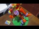 Игра с Тигрой из Винни Пуха. По принципу настольной игры Ослик Бакару Buckaro.